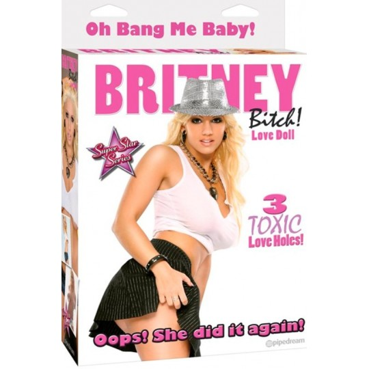 Muñeca Inflable Britney Love.