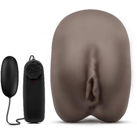 "Masturbador Realista Con Vibrador -"" Erin The Enchantress ""- Chocolate"