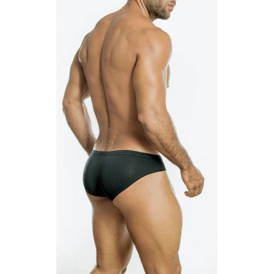 Bikini Brief Burnout- Negro-M.