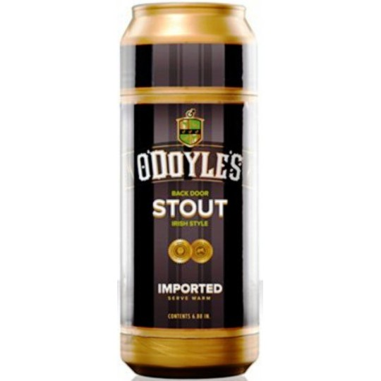 Masturbador Anal Sex in a Can O'Doyle's Stout.