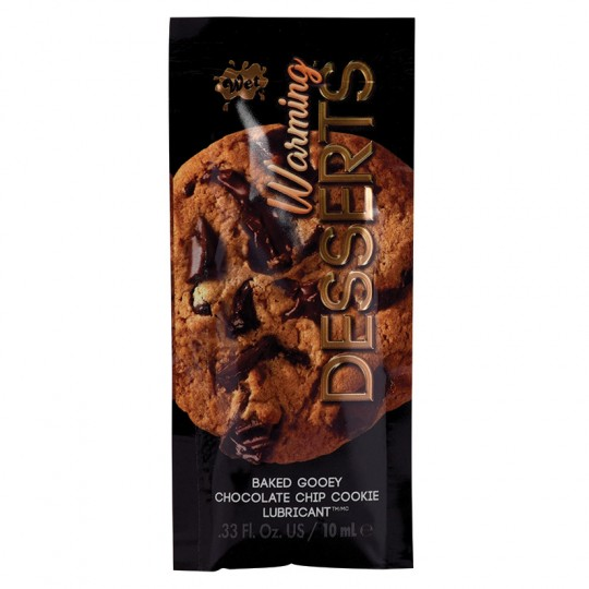 Lubricante Caliente Con Sabor a Galletas con Chips de Chocolate.