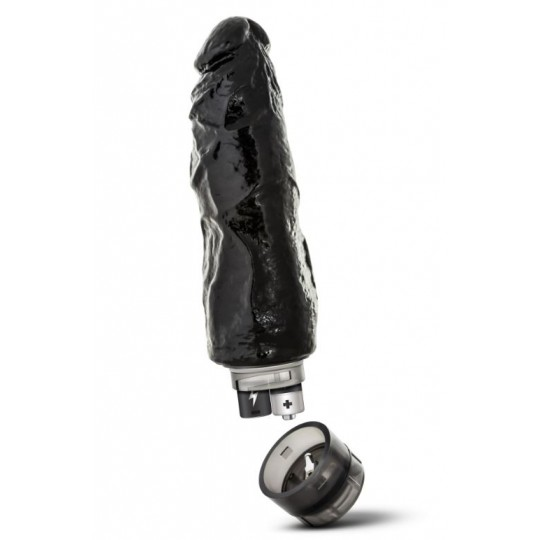 "Vibrador ""Hard Steel - Power 7"" - Negro"