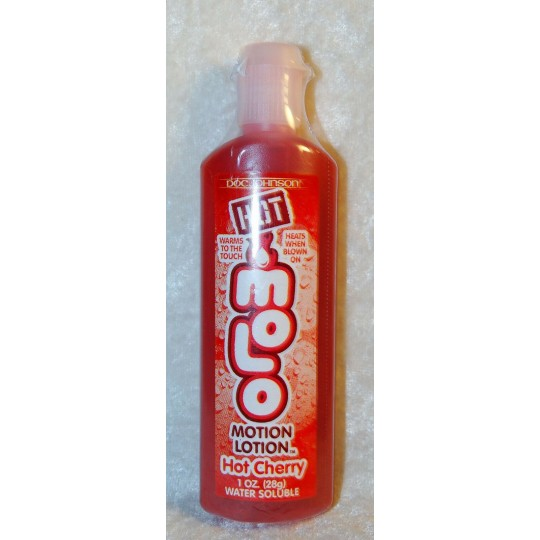 Aceite Hot Motion Lotion Cereza.
